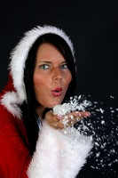 Weihnachts-Shooting mit Marie